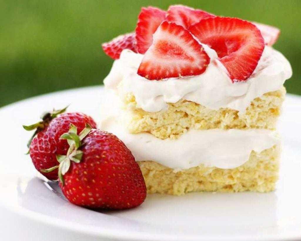 бисквитный торт со сливками рецепт